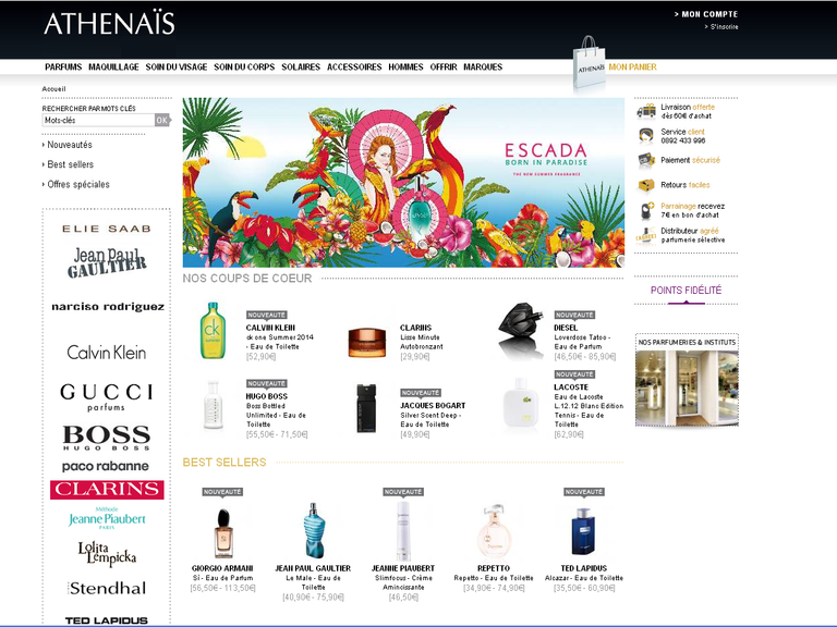 Athénaïs Parfums